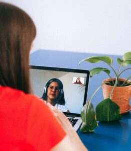 Zoom video call